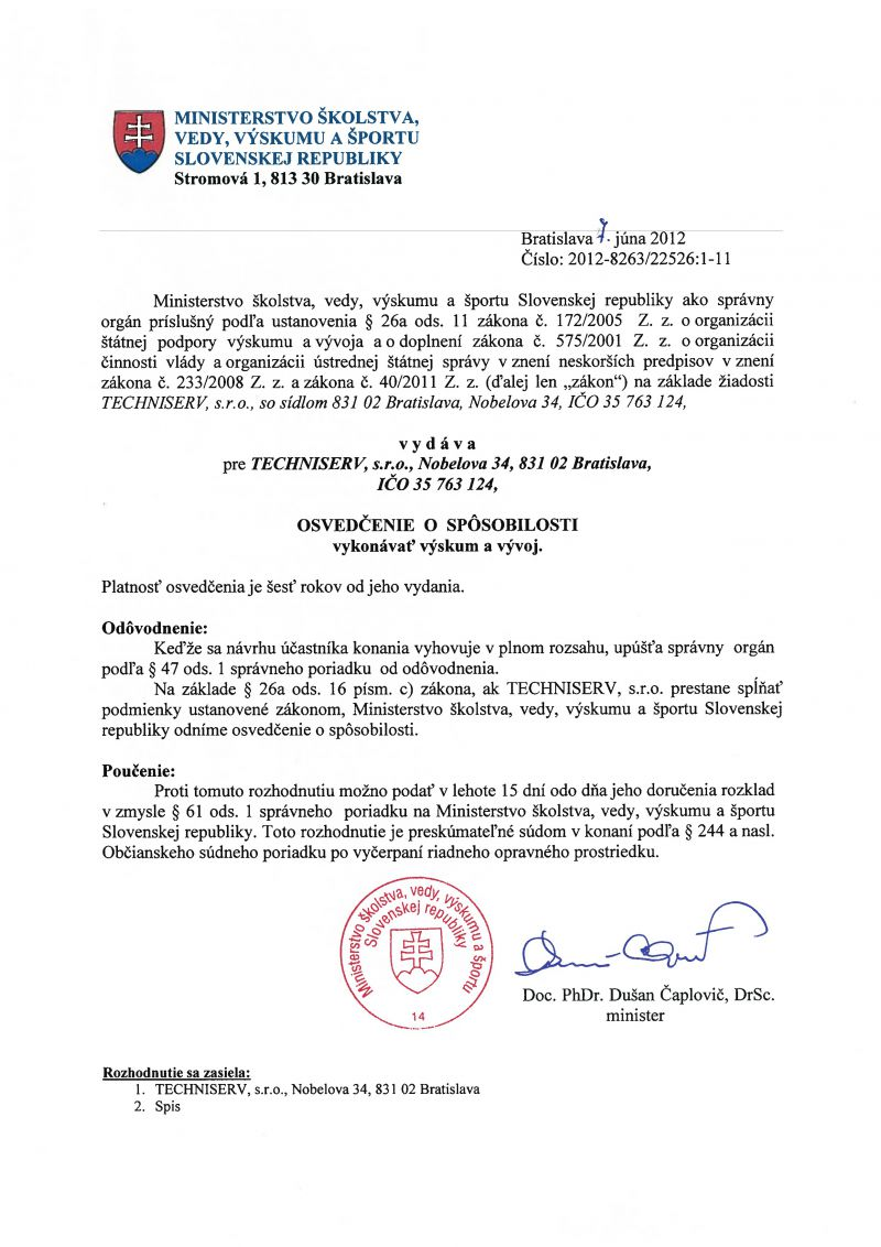 Certificates techniserv certificate of competency perform research and development xflitez Image collections